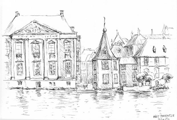 Torentje - Lange Vijverberg