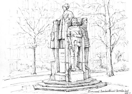 Monument Bombardement Bezuidenhout