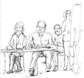 Xandra, Geert en Marina